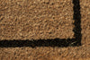 coir welcome mat