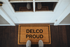 Delco proud doormat