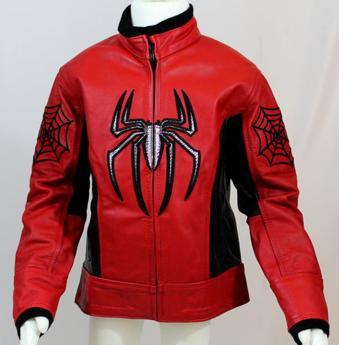 Boys Spider Leather Jacket - Princess for a Day Costumes