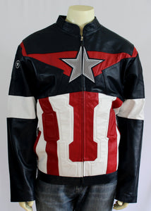 Captain America  Leather jacket - Princess for a Day Costumes