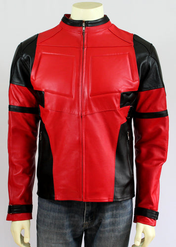 Deadpool Inspired Leather Jacket - Princess for a Day Costumes