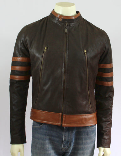Wolverine Inspired Leather Jacket - Princess for a Day Costumes