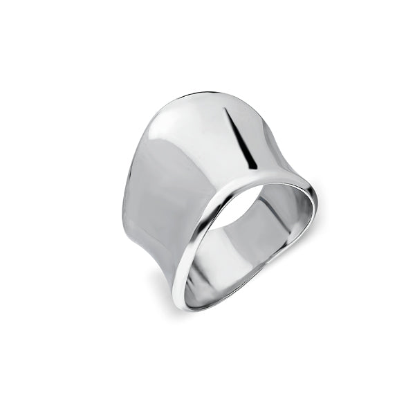 Maui Wave Ring - Sterling Silver