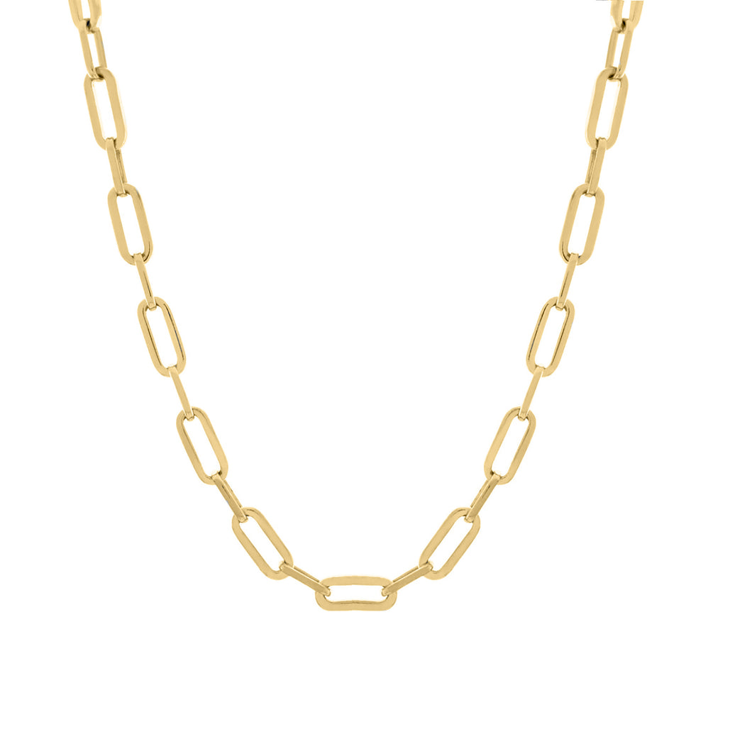 Portland Gold Necklace - Sterling Silver
