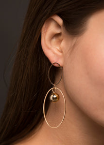 Manhattan Earrings - Violet Black Jewellery