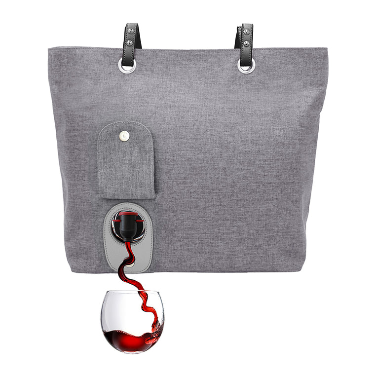 wine purse with spout