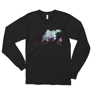 Abronia dark watercolor unisex long sleeve- Conservation Collection