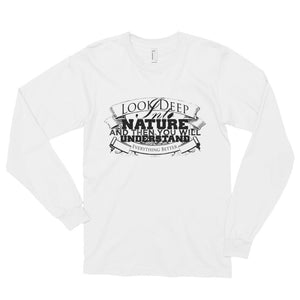 Deep into nature unisex long sleeve- Sustainability Collection