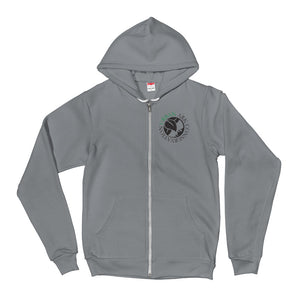 UAC logo unisex zip hoodie front print- Logo Collection