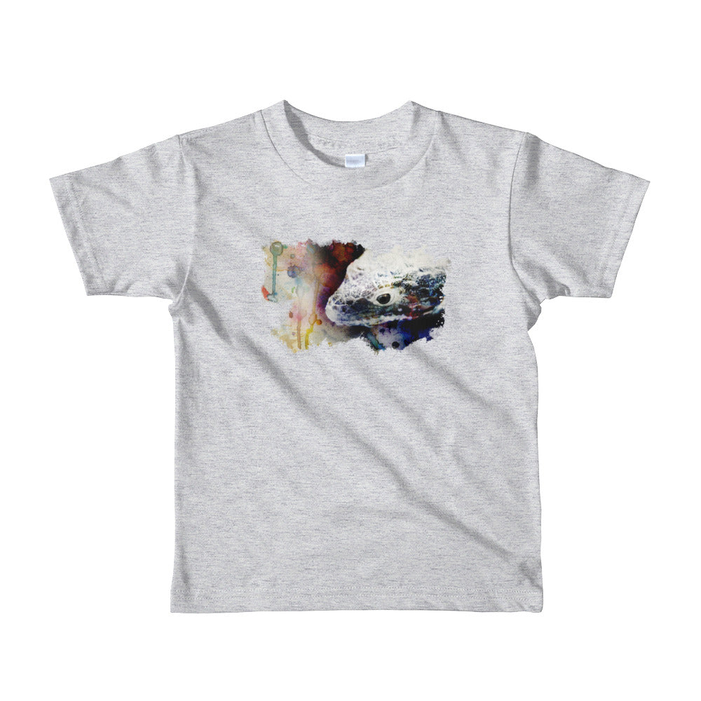 Abronia watercolor kid's short sleeve- Conservation Collection