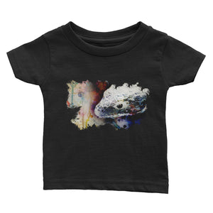 Abronia watercolor infant short sleeve- Conservation Collection