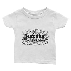 Deep into nature infant unisex short sleeve- Sustainability Collection
