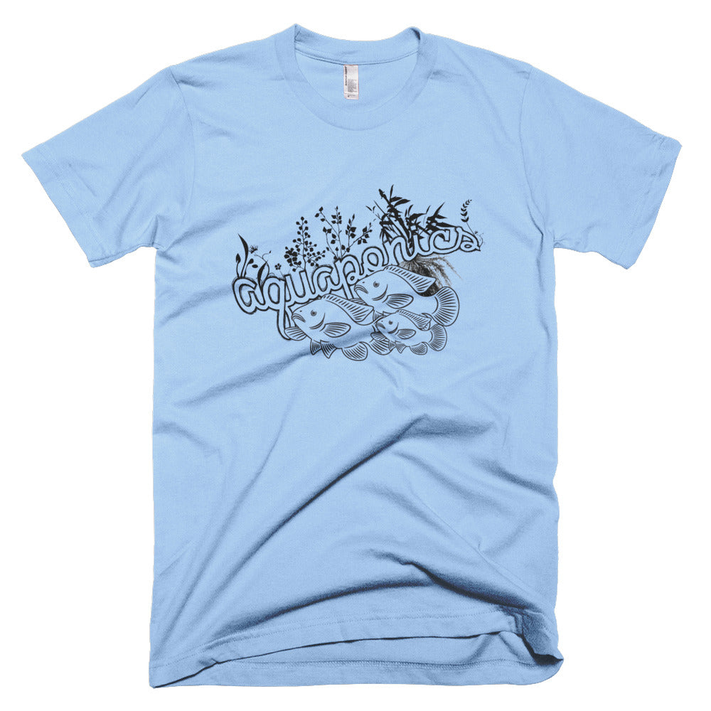 Aquaponics men's short sleeve- Sustainability Collection