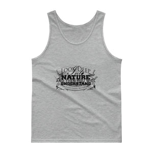 Deep into nature unisex tank- Sustainability Collection
