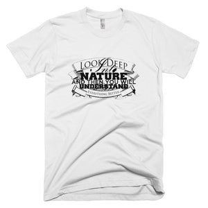 Deep into nature men's short sleeve- Sustainability Collection