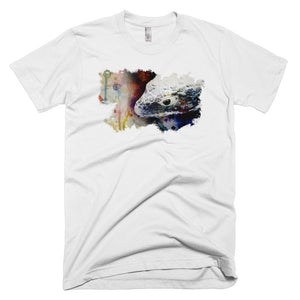 Abronia watercolor men's short sleeve- Conservation collection