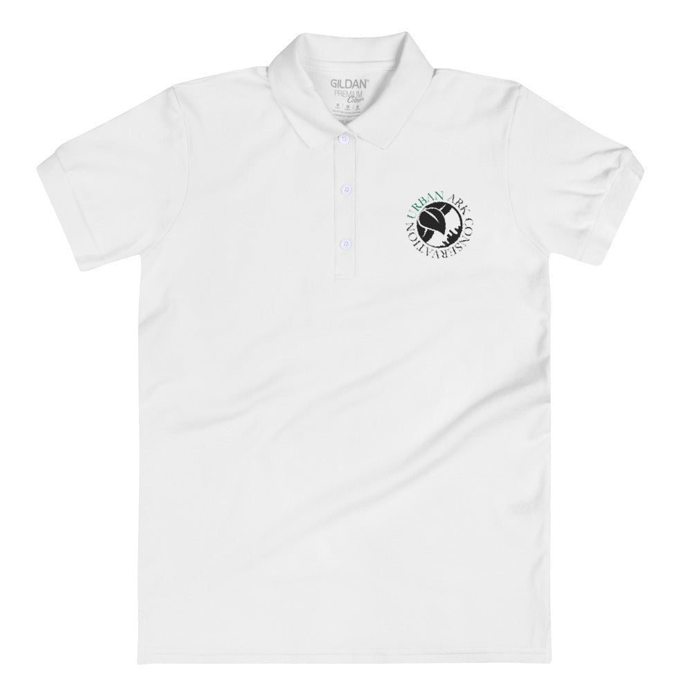 UAC logo women's embroidered polo- Logo Collection