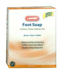 Foot Soap 1 Oz 8 Pack (Compare to Johnson Foot Soap) - MENCO MEDICAL SERVICES