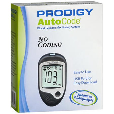 Prodigy AutoCode Blood Glucose Monitoring System - MENCO MEDICAL SERVICES