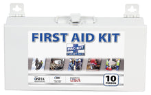ANSI Plus First Aid Kit (10 Person) Steel Case - MENCO MEDICAL SERVICES