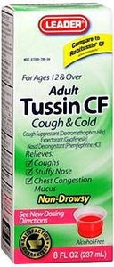 Adult Tussin CG - MENCO MEDICAL SERVICES