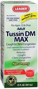 Adult Tussin DM MAX - MENCO MEDICAL SERVICES