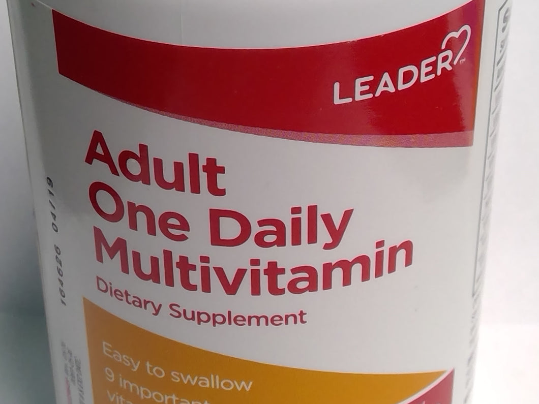 Adult One Daily Multivitamin - MENCO MEDICAL SERVICES