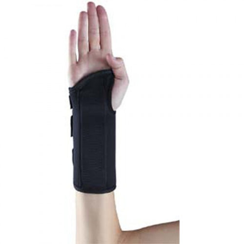 X-Large-Left Advantage 8 inch Memory Foam Wrist Splint - MENCO MEDICAL SERVICES