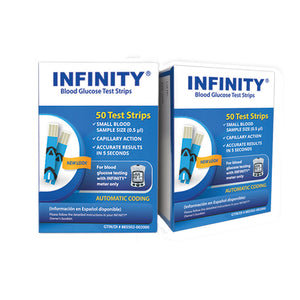 Infinity Blood Glucose Test Strips - MENCO MEDICAL SERVICES