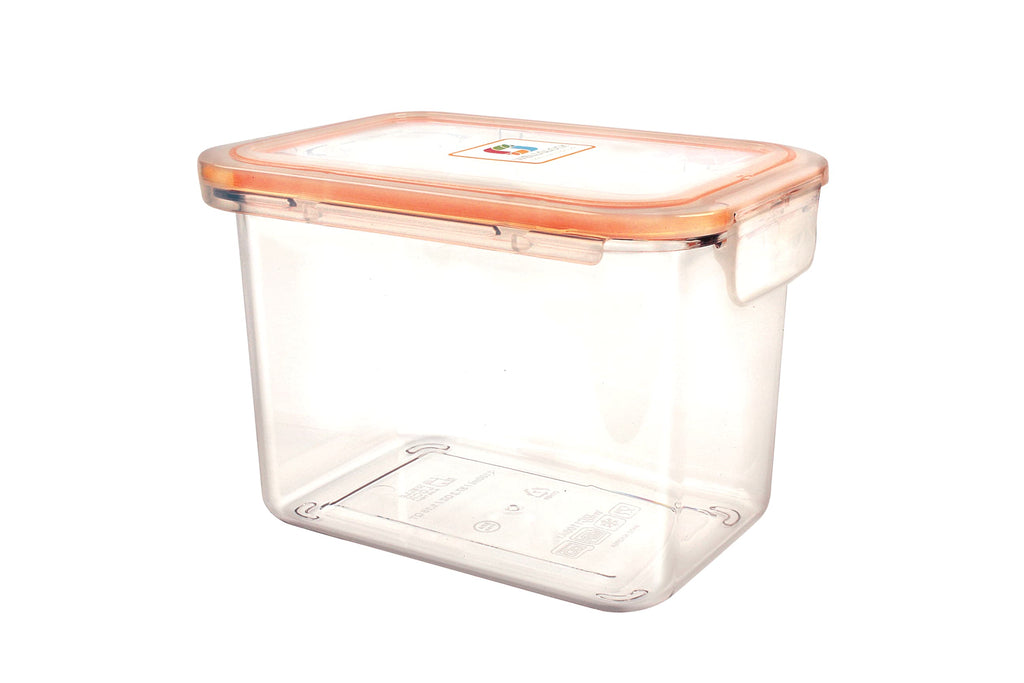 Wellslock 4.65 cups (Pack of 2) Locking Food Storage Containers with Lid - Wellslock
