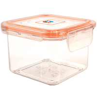 Wellslock 1.99 cups (Pack of 4) Locking Food Storage Containers with Lid - Wellslock