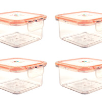 Wellslock  3.51 cups (Pack of 4) Locking Food Storage Containers with Lid - Wellslock