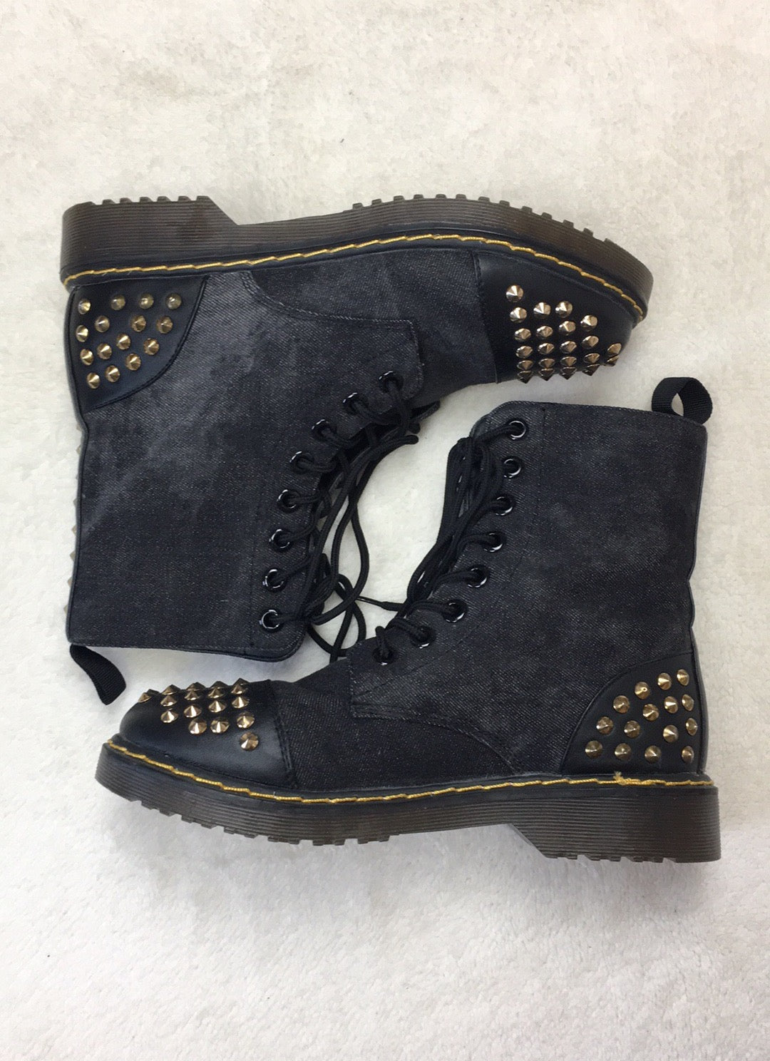 acbcac8608a Studded Combat Boots