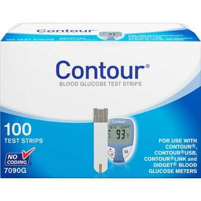 Contour Test Strips 100 Ct