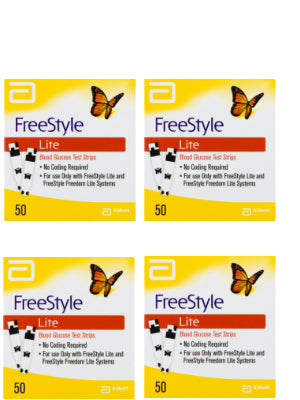 Freestyle Lite Test Strips 200 CT