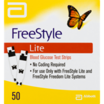 Freestyle Lite Test Strips 50 count