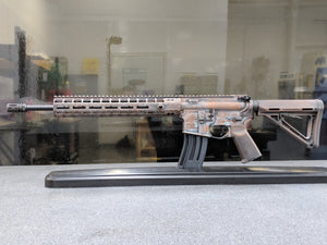 Custom Cerakote® Copper Worn AR-15