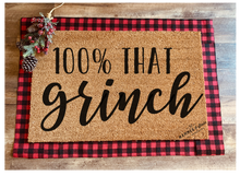 'Made To Order' Holiday Doormats