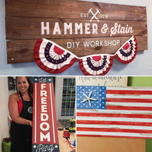 Hammer @ Home Americana Themed Projects  (Atlantic Beach)