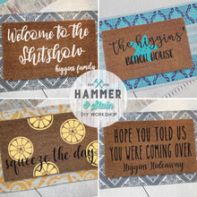 08/15/2019 (6:00pm) Doormat Workshop (Atlantic Beach)