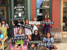08/07/2020 (6:00PM) FRIENDS Themed WORKSHOP $35-$65 (Atlantic Beach)
