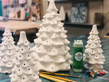 10/06/2019 (4:00) Moore Private Party Ceramic Christmas Tree Workshop (Atlantic Beach)