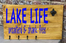 Griiling & Chilling Pallet Signs with Hooks and Bottle Opener Attachments  (Atlantic Beach)