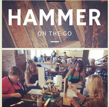 03/12/2019 (6:30pm) Hammer On The Go Workshop at Atlantic Beach Brewing Company  $35-$75 (Atlantic Beach)