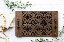 Coastal/Farmhouse Trays (Atlantic Beach)