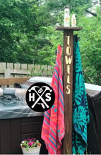 08/15/2020 (2:00pm) Outdoor Towel Rack Workshop (Atlantic Beach)