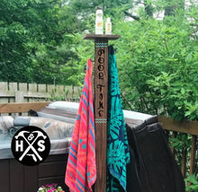 5 Ft Outdoor Towel Rack (Atlantic Beach)