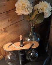 07/14/2020 (6:00pm) Etched Wine Glasses and Wood Wine Caddy Workshop (Atlantic Beach)