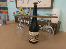 08/06/2020 (6:00pm) Etched Wine Glasses and Wood Wine Caddy Workshop (Atlantic Beach)