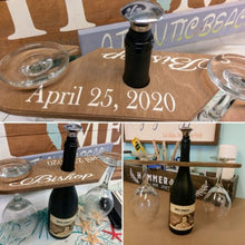 06/24/2020 (6:00pm) Wtched Wine Glasses and Wood Wine Caddy Workshop (Atlantic Beach)